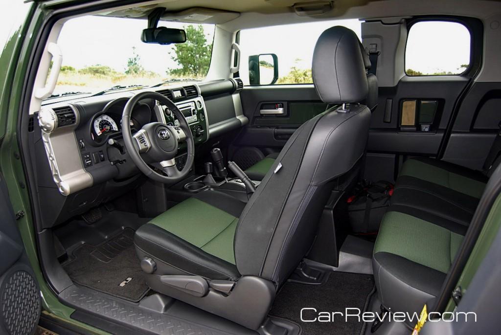 2011 Toyota Fj Cruiser Team Trails Edition Interior Car Reviews