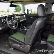 2011 Toyota FJ Cruiser Team Trails Edition interior