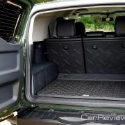 2011 Toyota FJ Cruiser Team Trails Edition rear cargo area