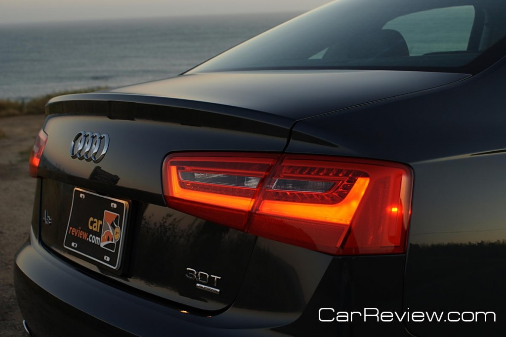 2012 Audi A6 LED taillights