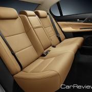 2013 Lexus GS back seat