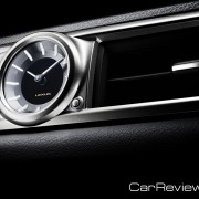 2012 Lexus GS center dash-mounted analog clock