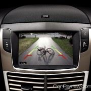 2012 Lincoln MKT rearview camer