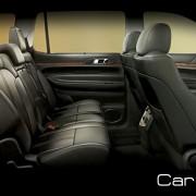 2012 Lincoln MKT 3-row 7-passenger seating