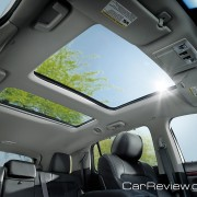 2012 Lincoln MKT panoramic vista view sunroof
