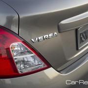 2012 Nissan Versa taillight