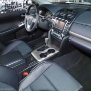 2012 Toyota Camry SE interior