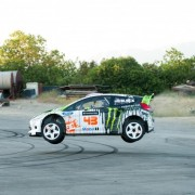 Ken Block Gymkhana Four - leaps and bounds throughout the video