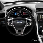 2011 Ford Explorer driver cockpit