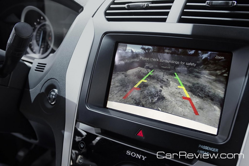 2011 Ford Explorer rear camera