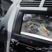 2011 Ford Explorer rear camera