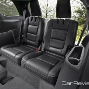 2011 Ford Explorer has standard seating of 3 rows