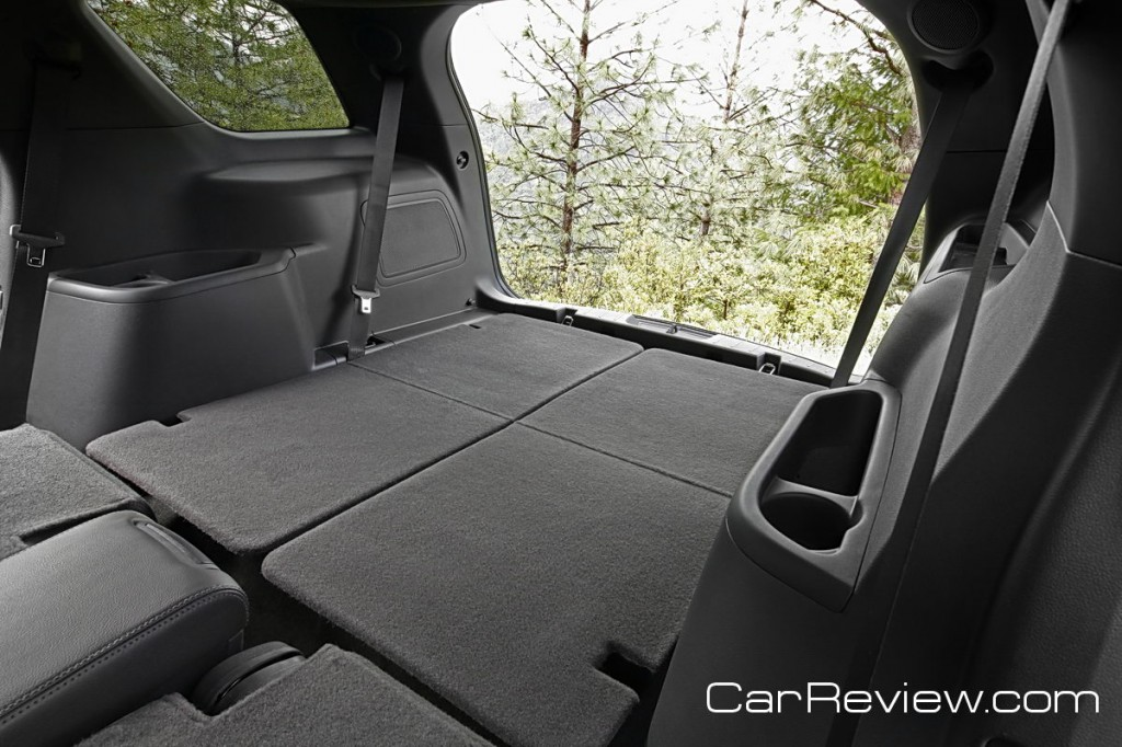 2011 Ford Explorer rear cargo area