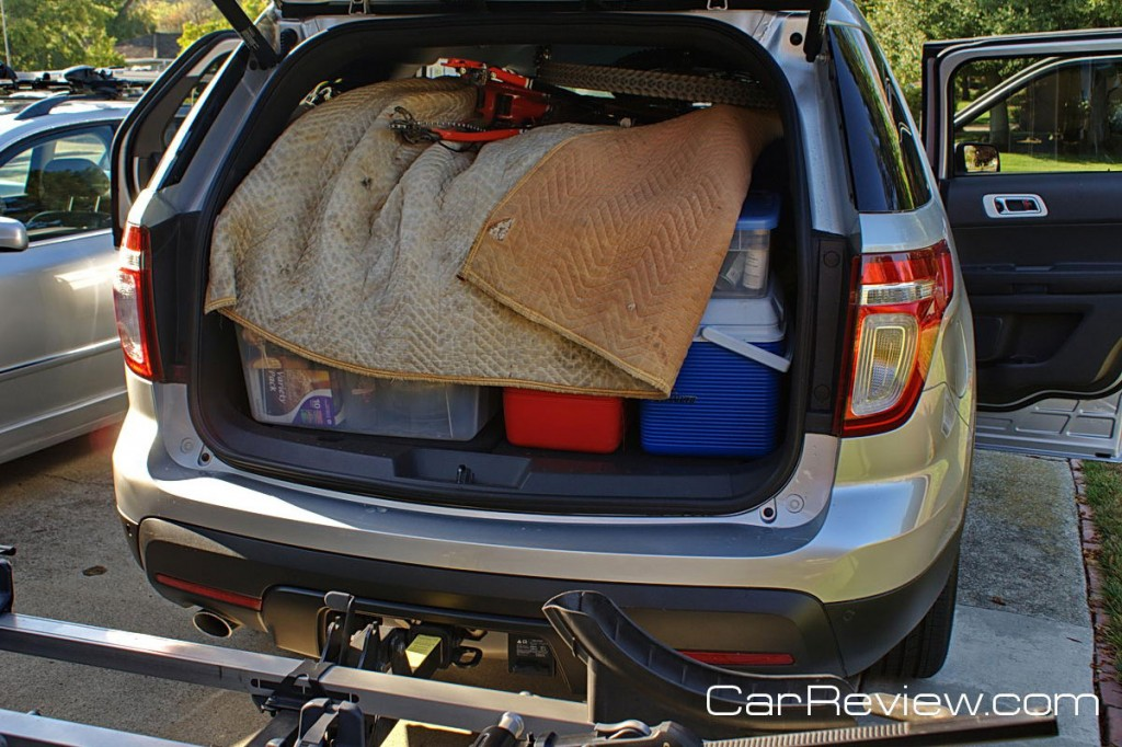 2011 Ford Explorer has 80.7 cubic feet of cargo space