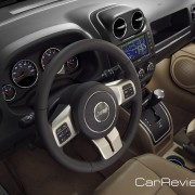 2011 Jeep Compass driver's cockpit