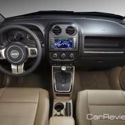 2011 Jeep Compass interior
