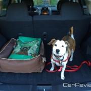 2011 Jeep Compass rear cargo area