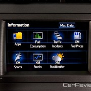 2012 Prius Plug-In information display