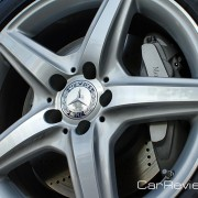 18-inch AMG wheel and tire package