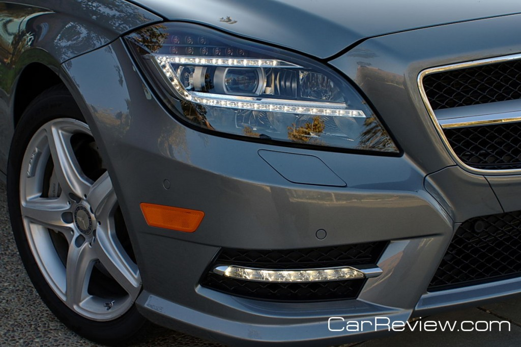 Mercedes-Benz CLS550 All-LED headlamps and DRLs