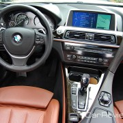 2012 BMW 650i Convertible interior