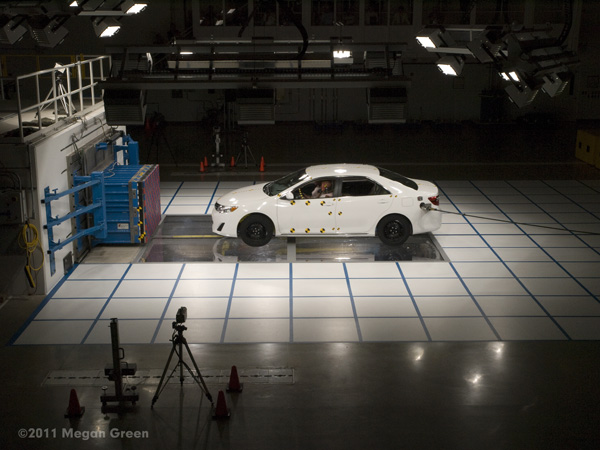 Toyota Technical Center - CSRC; Crash Test