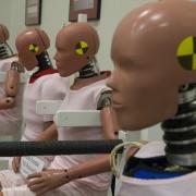 Toyota Technical Center - CSRC; crash test dummies