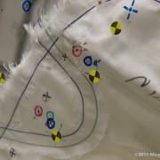 Toyota Technical Center - CSRC; Crash Test airbag detail