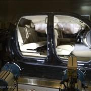Toyota Technical Center - CSRC; airbag test