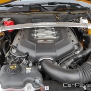 412 hp 5.0L V8 engine