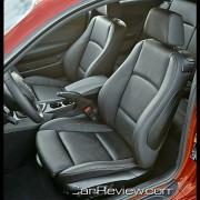 Multi-adjustable manual front sport seats