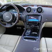 2012 Jaguar XJL interior