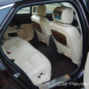 Jaguar XJL back seats