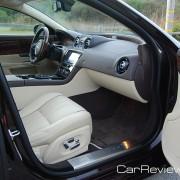 Jaguar XJL front seats