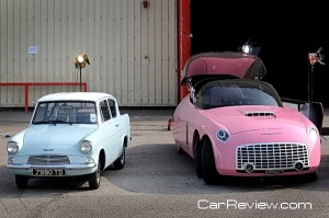 Ford Anglia 105E and 6-wheel Ford badged FAB1