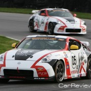 A.M. Performance Nismo 370Z cars 05 and 04 (©) Carmen Lynaugh