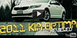 2011 Kia Optima video review