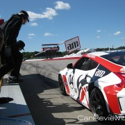 A.M. Performance Nismo 370Z #04 car in the hot pit