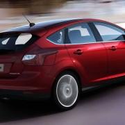 Ford Focus Titanium rear