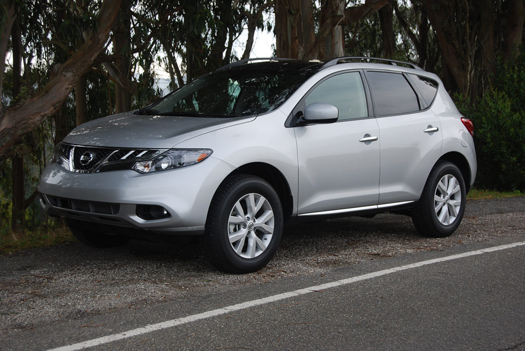 2012 Nissan Murano Sl Fwd Review Car Reviews And News At