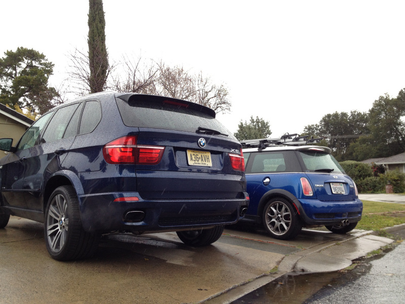 X5 and Mini Cooper