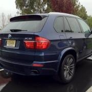 X5 rear panel