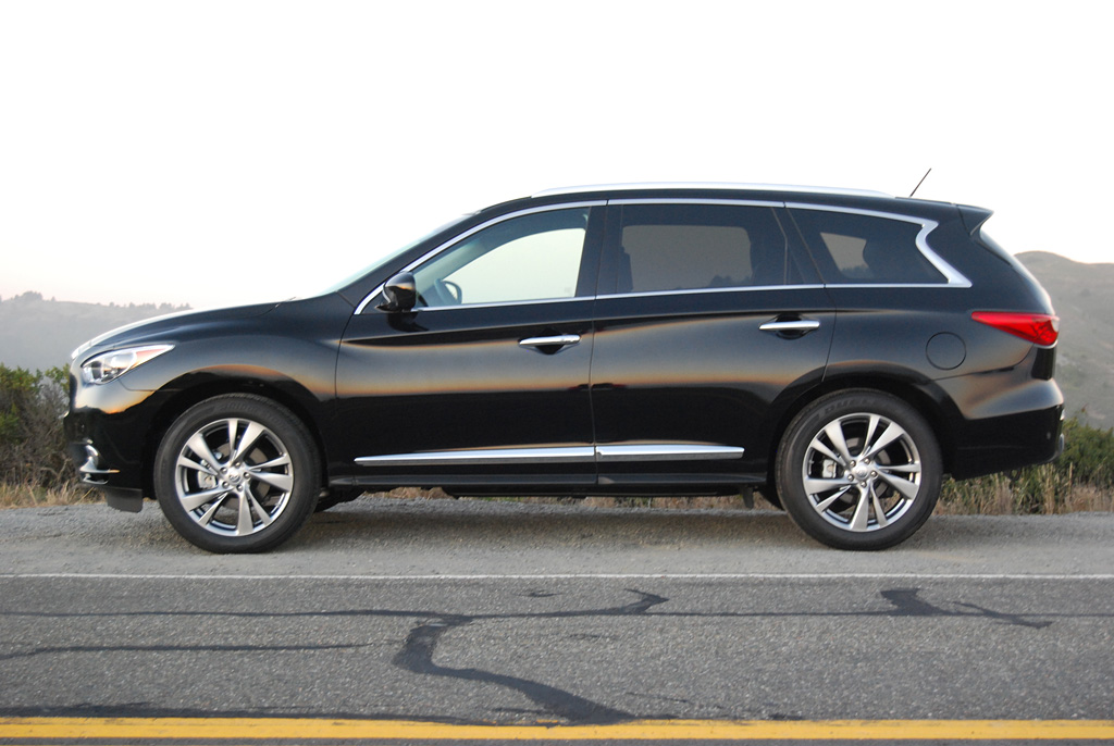 2013 infiniti jx35 awd review car reviews and news at. Black Bedroom Furniture Sets. Home Design Ideas