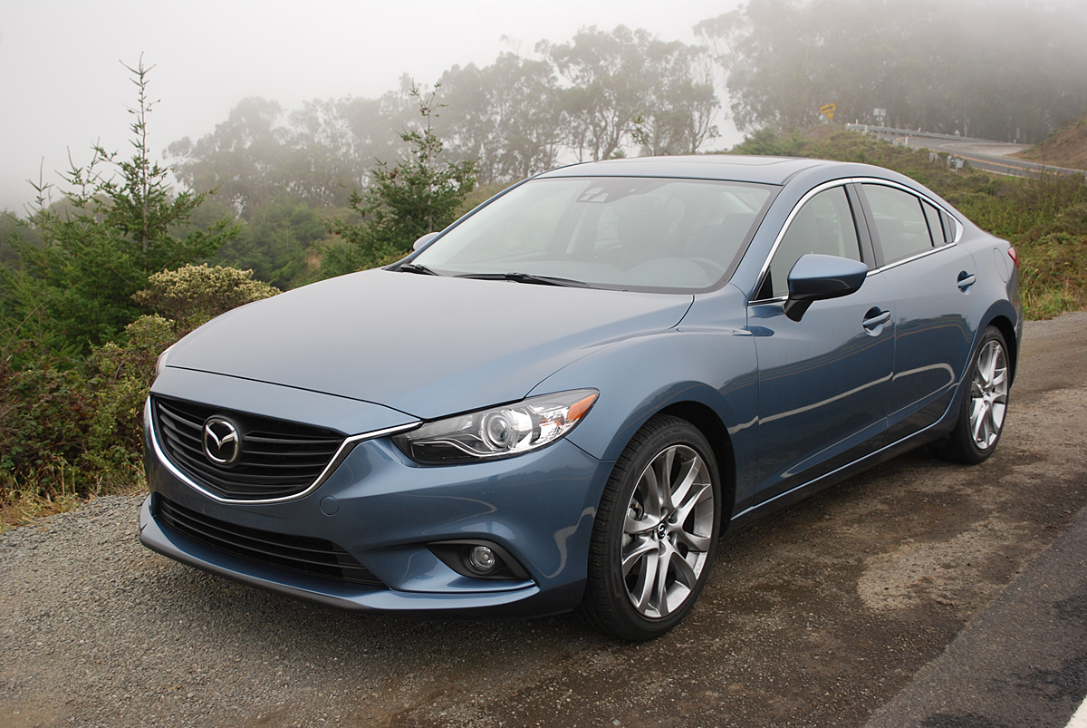 review 2014 mazda6 grand touring car reviews and news at. Black Bedroom Furniture Sets. Home Design Ideas