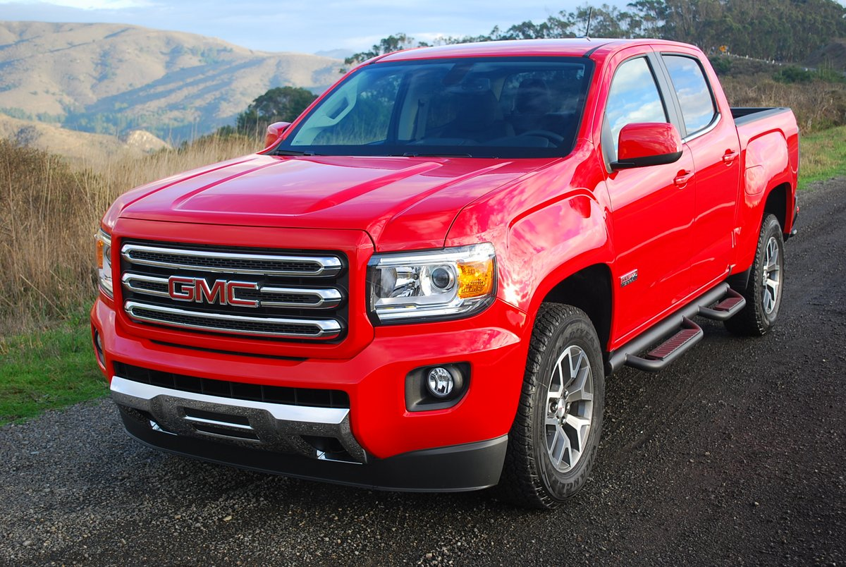 2015 GMC Canyon 4WD SLE Crew Cab Short Box