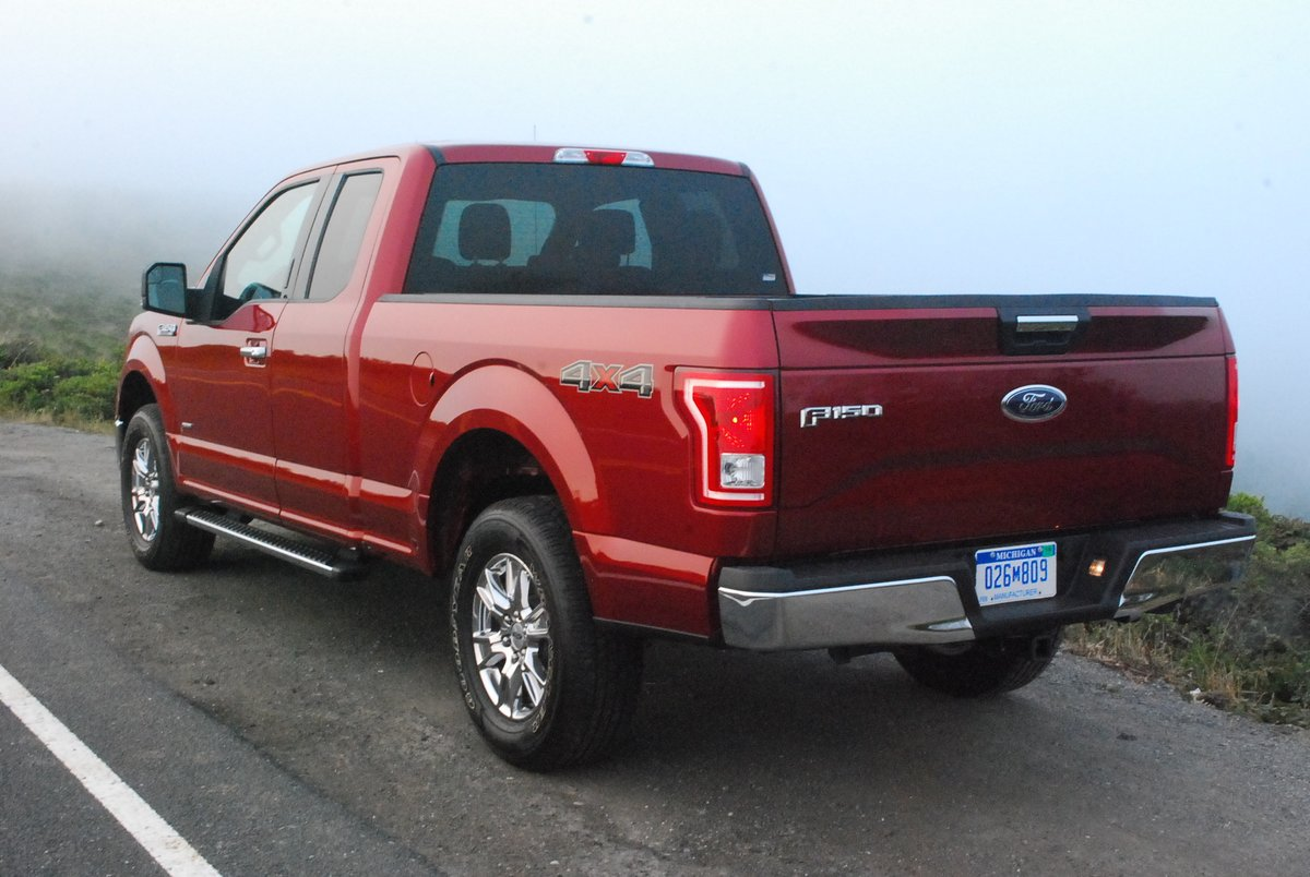 2015 Ford F-150 4x4 Supercab