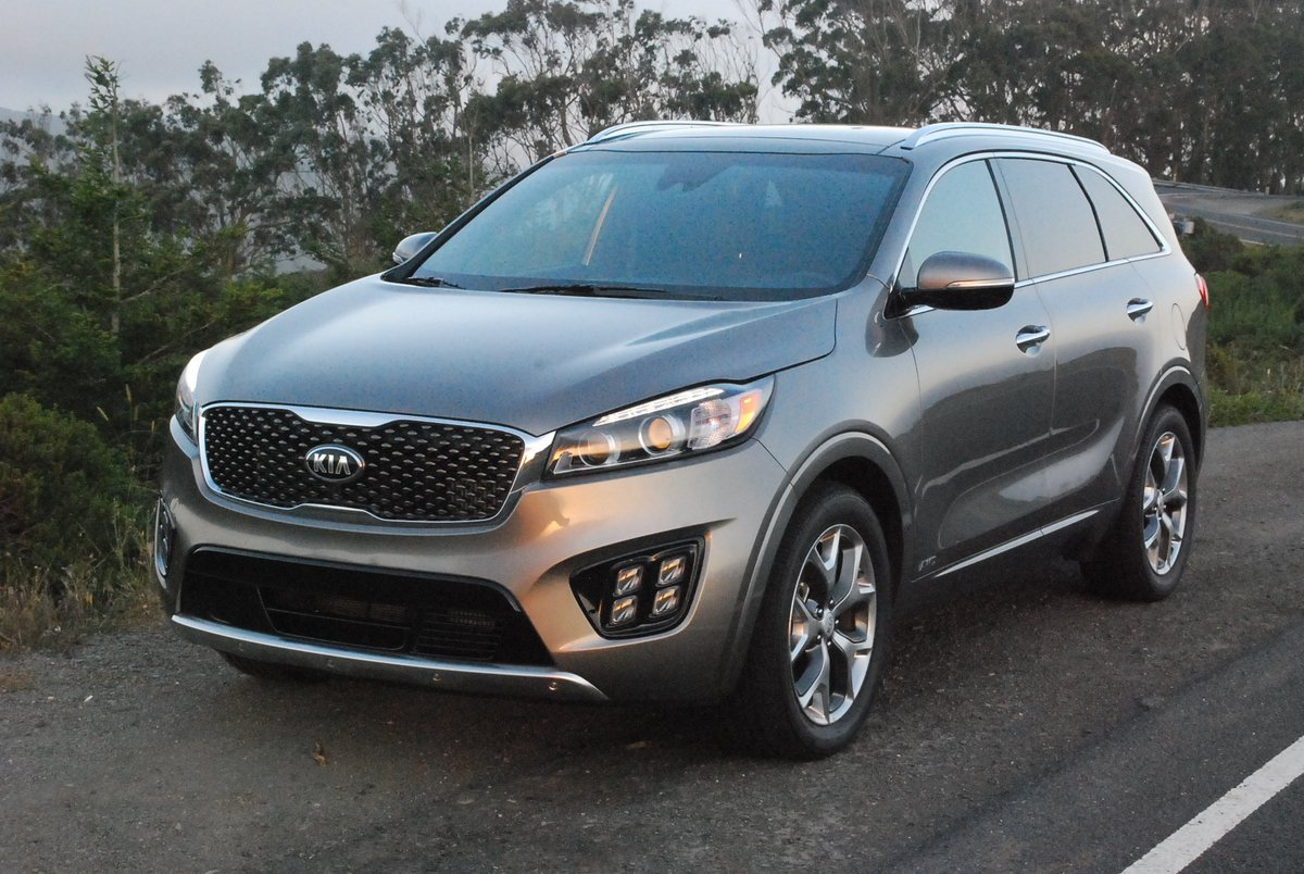 2016 Kia Sorento SXL AWD 2.0 Turbo