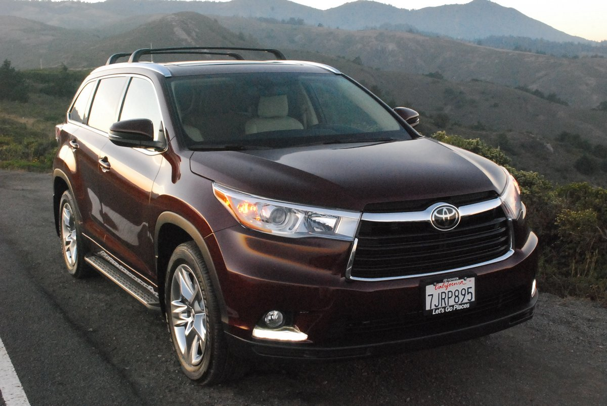 review 2015 toyota highlander limited fwd car reviews and news at. Black Bedroom Furniture Sets. Home Design Ideas