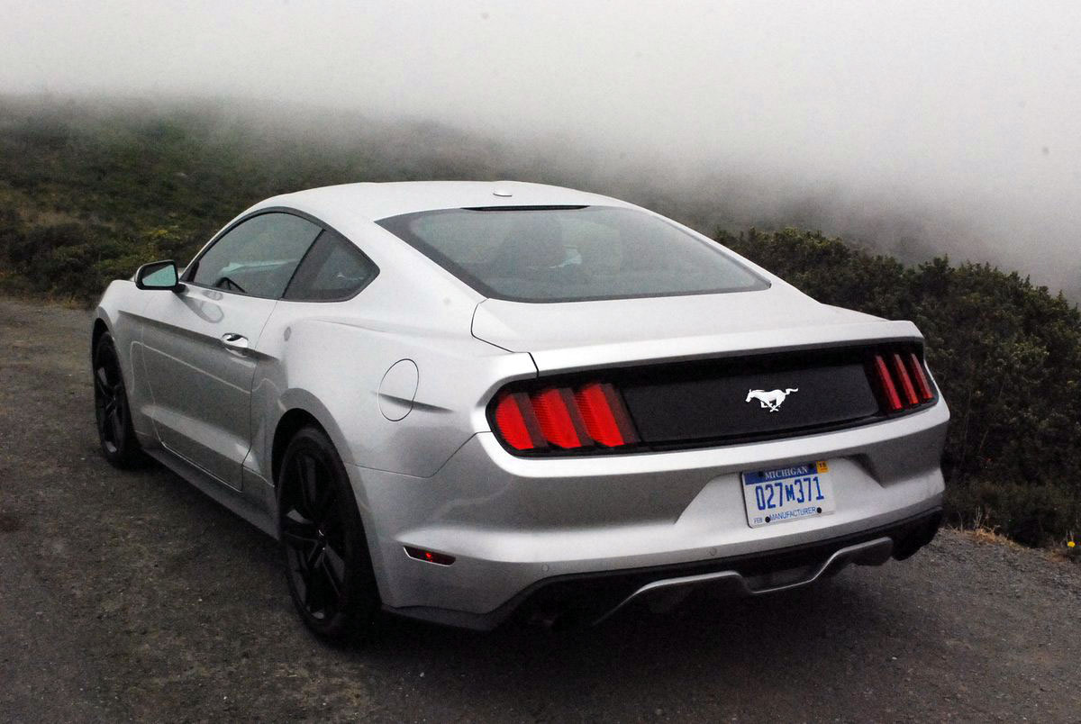 2015 Ford Mustang Eco Boost 4