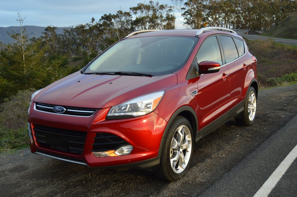 news review titanium ford at reviews escape and car